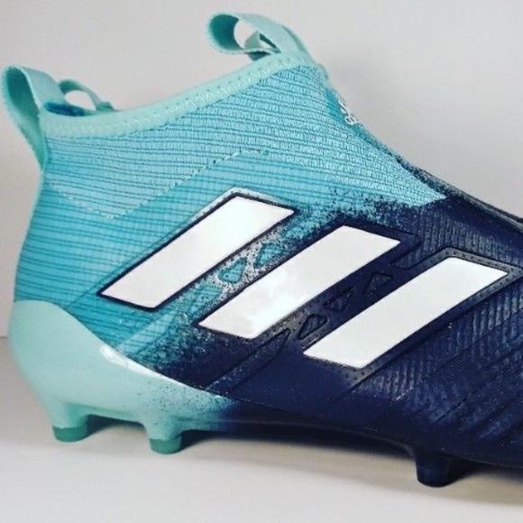 bb5a9cbef Adidas Men ACE 17+ PURECONTROL FG Energy Aqua
